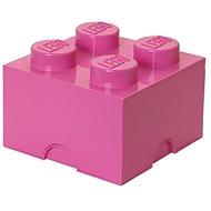 LEGO Aufbewahrungsbox 4 250 x 250 x 180 mm - rosa - Aufbewahrungsbox