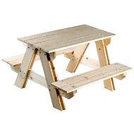 Holztisch + Bänke - Set