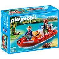 PLAYMOBIL® 5559 Schlauchboot mit Wilderern - Baukasten