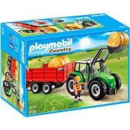 PLAYMOBIL® 6130 Großer Traktor mit Anhänger - Baukasten