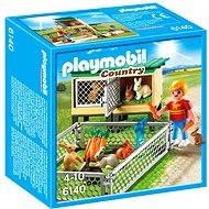 PLAYMOBIL® 6140 Hasenstall mit Freigehege - Baukasten