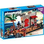 PLAYMOBIL® 6146 SuperSet Piratenfestung - Baukasten