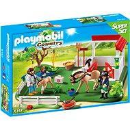 PLAYMOBIL® 6147 SuperSet Koppel mit Pferdebox - Baukasten