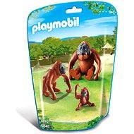 PLAYMOBIL® 6648 2 Orang-Utans mit Baby - Baukasten