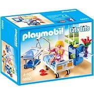 PLAYMOBIL® 6660 Krankenzimmer mit Babybett - Baukasten