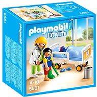 PLAYMOBIL® 6661 Ärztin am Kinderkrankenbett - Baukasten