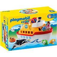 PLAYMOBIL 1.2.3 ® 6957 Mein Schiff zum Mitnehmen - Baukasten