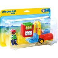 PLAYMOBIL 1.2.3 ® 6959 Gabelstapler - Baukasten