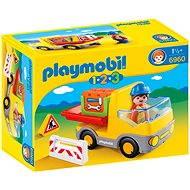 PLAYMOBIl 1.2.3 ® 6960 Muldenkipper - Baukasten