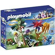 PLAYMOBIL® 6687 Lost Island mit Alien und Raptor - Baukasten