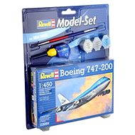 Revell Model Set 63999 Flugzeug – Boeing 747-200 - Plastik-Modellbausatz