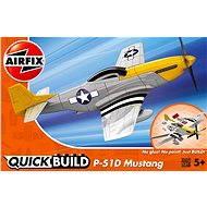 AirFix Quick Build J6016 Flugzeug - P-51D Mustang - Platikmodel