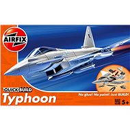 Kunststoffmodell AirFix Quick Build J6002 Flugzeug - Eurofighter Typhoon - Platikmodel