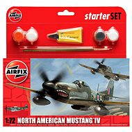 AirFix Starter Set A55107 Flugzeug – North American Mustang IV - Platikmodel