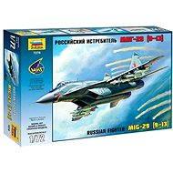 Plastikmodell Zvezda 7278 - Russisches Kampf-Flugzeug MiG-29 (9-13 Jahre) - Platikmodel