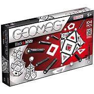 Geomag - Panels schwarz / weiß 104 Stück - Magnetischer Baukasten