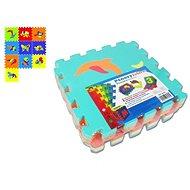 Schaumstoff-Puzzle Kinderteppich soft - Tiere - Spielset