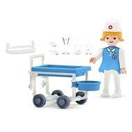IGRÁČEK - Gesundheitsklinik mit Zubehör - Spielset
