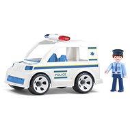IGRÁČEK Handy - Polizeiauto mit Polizist - Spielset