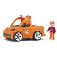 Spielset Straßenbau Multigo - Wartungsfahrzeug und Figur - Spielset