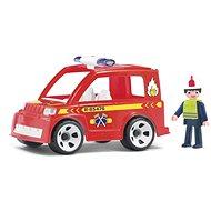 Igráček Multigo - Feuerwehrauto mit Feuerwehrmann - Spielset