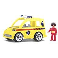 IGRÁČEK Multigo - Krankenwagen mit dem Retter - Spielset