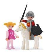 IGRÁČEK Trio - Prinzessin, Ritter und weißes Pferd - Spielset