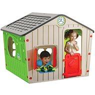Kinderspielhaus Village grau - Kinderspielhaus