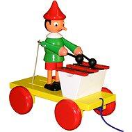 Pinocchio Spielzeug mit Xylofon - Nachziehspielzeug