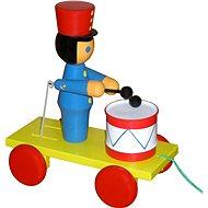 Nachspielzeug Soldat mit Trommel - Nachziehspielzeug