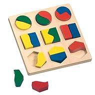 Puzzle Bino Puzzle - Geometrische Formen - Puzzle