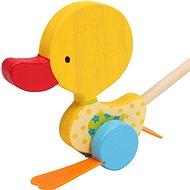 Nachziehspielzeug - Pickende Ente Tine - Nachziehspielzeug