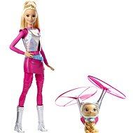 Mattel Star Light Adventure Barbie mit fliegender Katze - Puppe