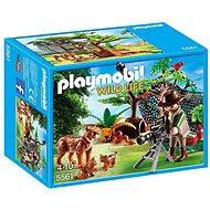 PLAYMOBIL® 5561 Luchsfamilie mit Tierfilmer - Baukasten