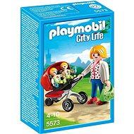 PLAYMOBIL® 5573 Zwillingskinderwagen - Baukasten