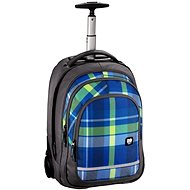 All Out Bolton Trolley Rucksack Woody Blue - Schulrucksack