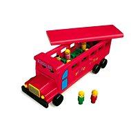 Dřevěný školní autobus - Spieleisenbahn-Zubehör