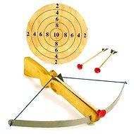 Spielzeugwaffe Große Armbrust mit Pfeilen und Ziel