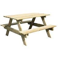 Kleiner Tisch mit zwei Bänken PIC-NIC - Kindermöbel