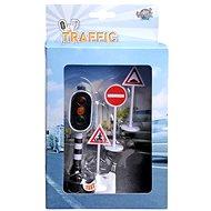 Spielset Ampel mit Funktion und Verkehrszeichen - Zubehör für Eisenbahnen