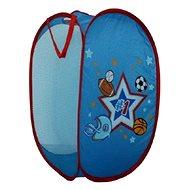 Sammel-Korb für Spielzeug für Jungen - Bälle - Deko fürs Kinderzimmer