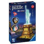 Ravensburger 3D Puzzle Freiheitsstatue - Night Edition - Puzzle