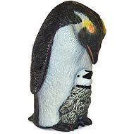 Atlas Pinguin und Jungtier - Figur