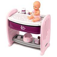 Smoby Baby Nurse 2in1 Kinderbett / Wickeltisch - Zubehör für Puppen