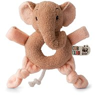 Ebu Elefant Pink Rassel - Babyrassel