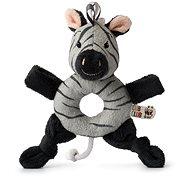 Ziko Zebra Grey Rattle - Babyrassel