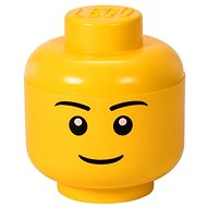 LEGO Aufbewahrungskopf (Größe S) - Junge - Aufbewahrungsbox