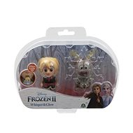 Frozen 2: Glänzende Minipuppe - Kristoff & Sven - Figuren