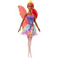 Barbie Magische Fee mit orangefarbenen Haaren