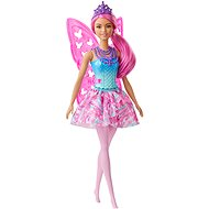 Barbie Magic Fee mit rosa Haaren - Puppe